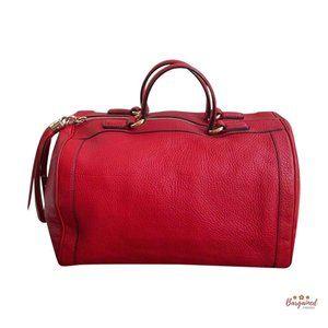 Authentic Gucci Calfskin Soho Boston Bag 282302